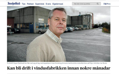 Q3 Partners i avisen Sunnhordland