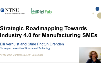 DigiFab: «Strategic roadmapping towards Industry 4.0 for Manufacturing SMEs»